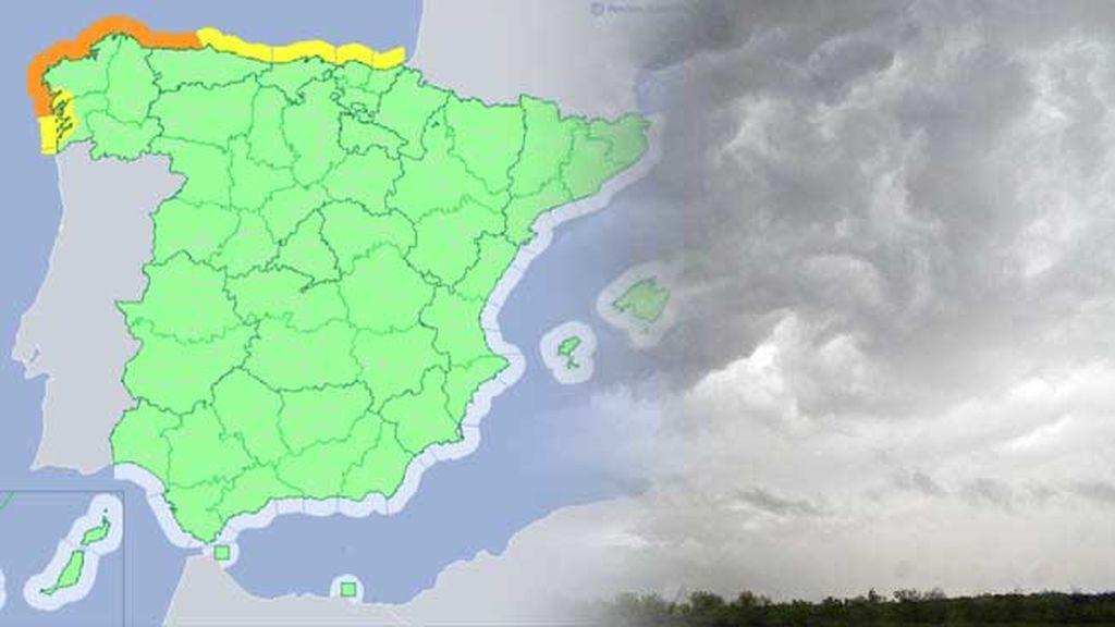 El mar se altera en el norte: toda la costa cantábrico, en riesgo por olas