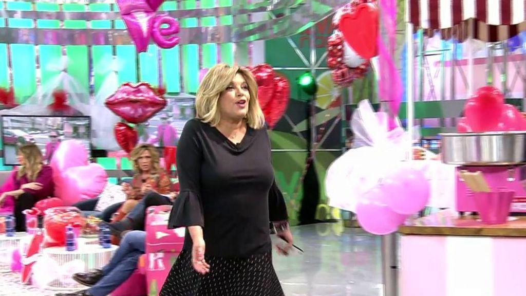 Terelu Campos se mosquea y abandona el plató de 'Sálvame'