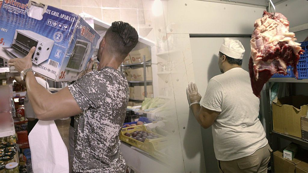 Nyno Vargas encierra a Moro Juan y desvalija la tienda como venganza