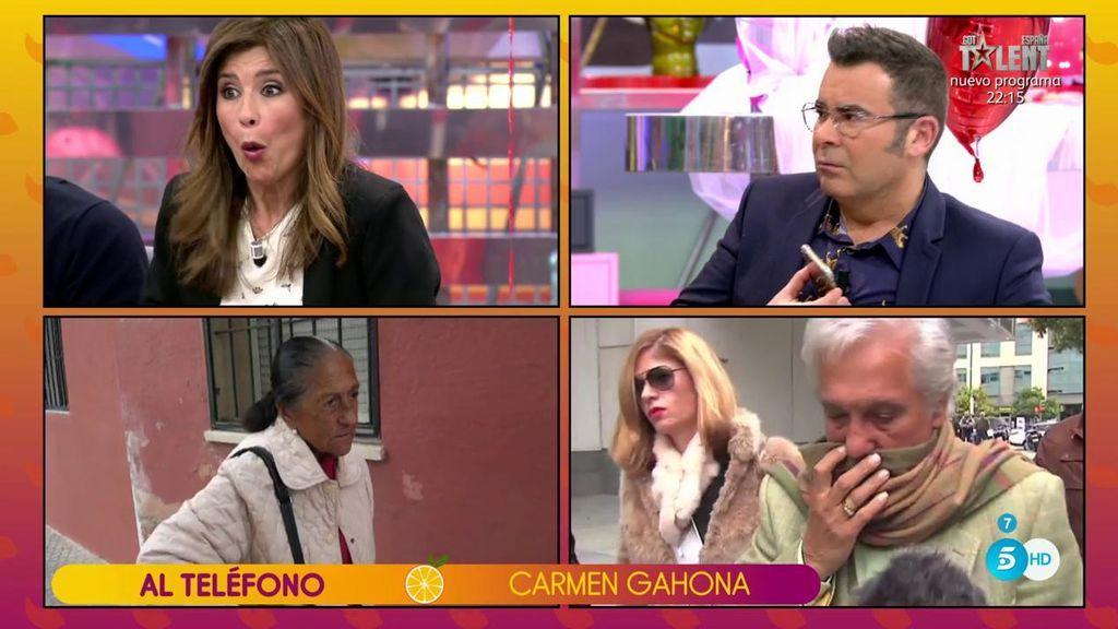 "Carmen Gahona: ""¡Isabel Pantoja se puede ir a... tomar viento fresco!"""