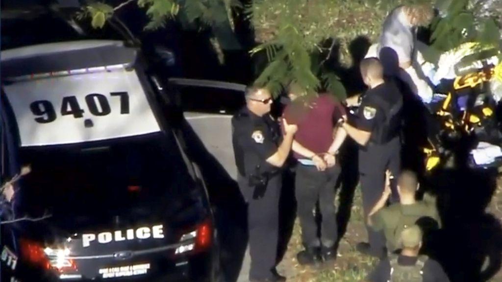 Las imágenes del tiroteo en el instituto de Florida