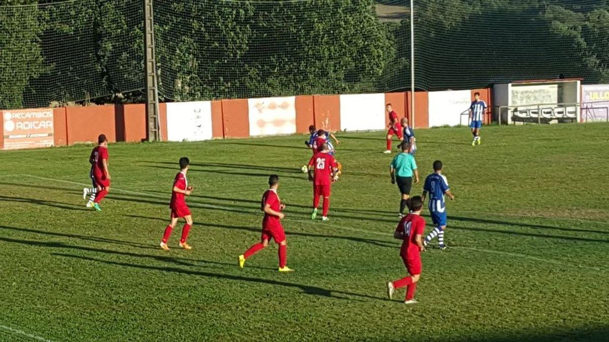 Un equipo gallego para el partido y le pide a la Guardia Civil que le haga el control de alcoholemia al árbitro