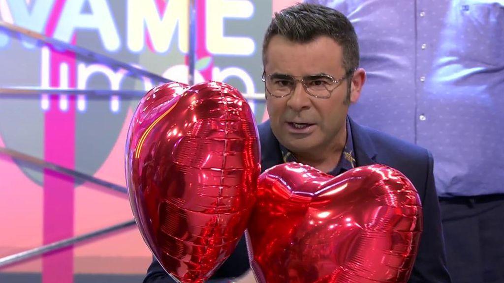 """A J.J. Vázquez no le gustan los globos de corazones: """"Imagínese la situación por la que estoy pasando, he visto un San Valentín y he dicho...¡buaj!"""""""