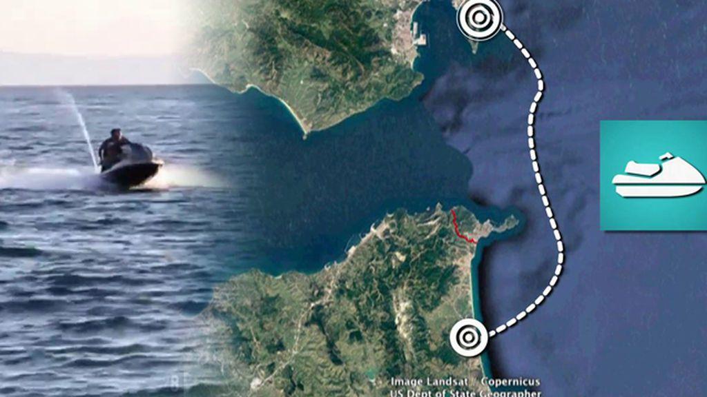 Así fue la huida de película del narco 'Samuelito' en el Estrecho