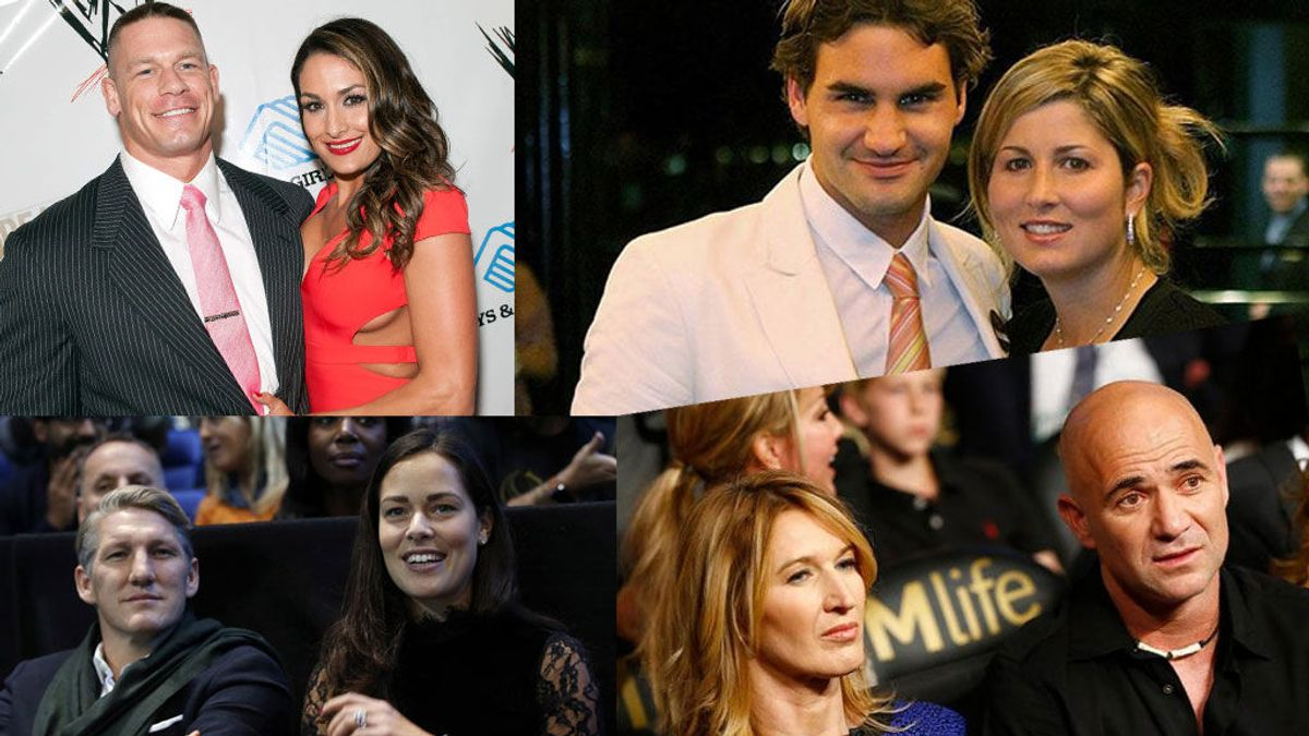 Especial San Valentín 'Sport': las parejas de deportistas más famosas