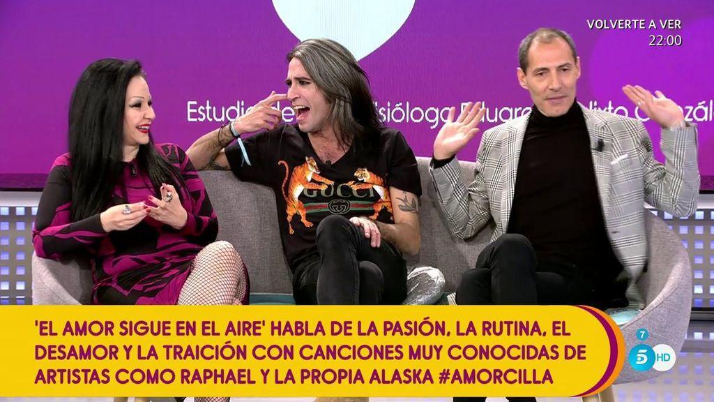 Alaska, Mario Vaquerizo y Manuel Bandera nos dicen que piensan sobre el amor, la pasión y la traición
