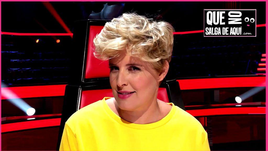 """Tania Llasera se """"moja"""" y dice cuál le gusta más: ¿'La Voz Kids' o 'La Voz'?"""