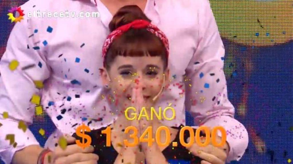 Gana 1.340.000$ en Pasalabra Argentina y dedica sus primeras palabras al equipo de fútbol de su vida