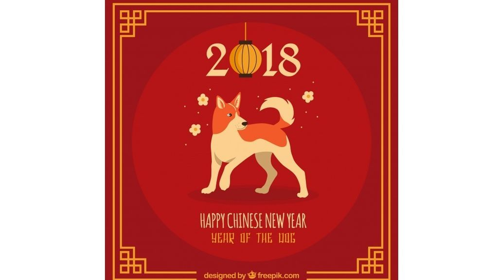 background-with-dog-for-chinese-new-year_23-2147732504