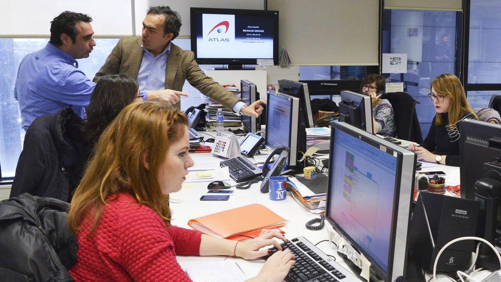 Redacción de Mediaset España.