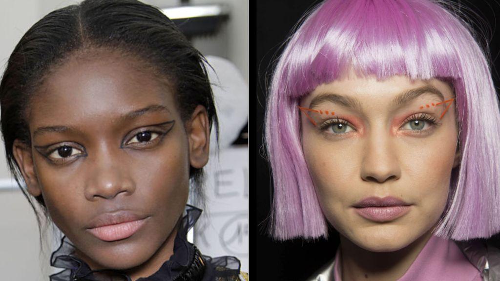 ¿Verdadero o falso? La raya muy por fuera del ojo y otras tendencias locas de maquillaje que existen (o no)