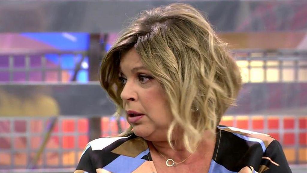 "Terelu Campos se mosquea con Patiño: ""Nunca me dejáis terminar de hablar"""