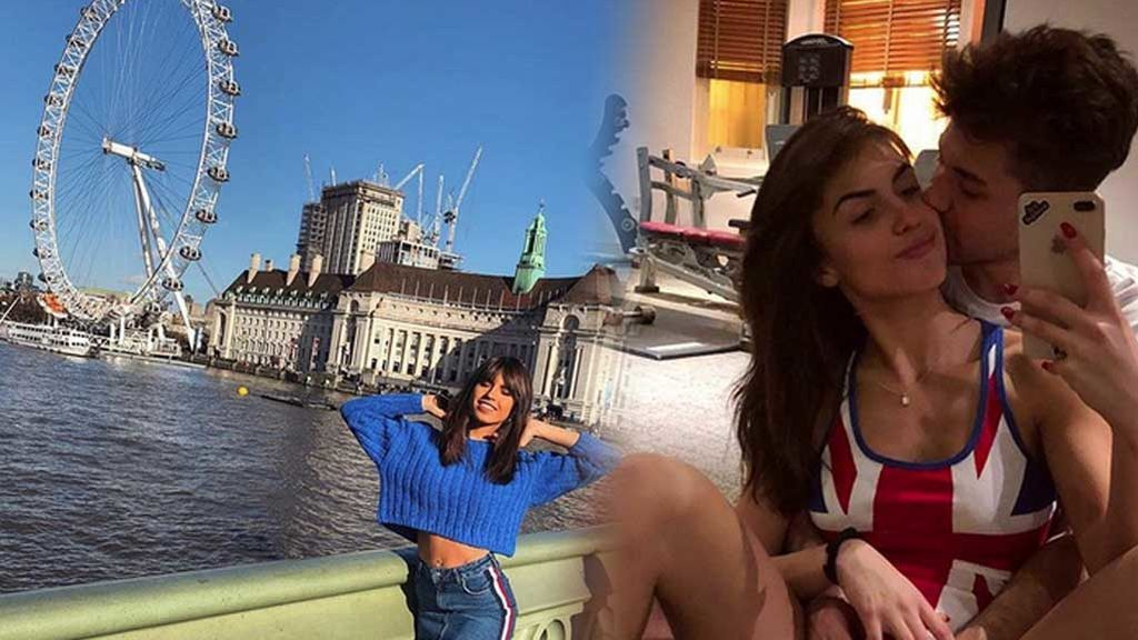 ¡De viaje de nuevo! Las románticas imágenes de Sofía Suescun y Alejandro Albalá en Londres