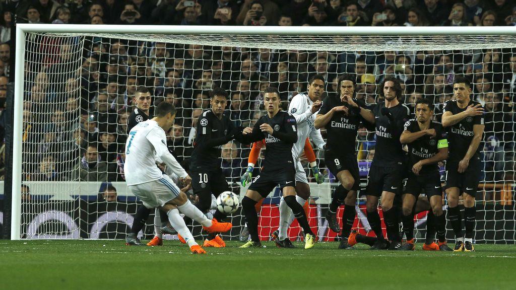 El Real Madrid saca su orgullo ante el PSG en un partido clave de Cristiano Ronaldo y Asensio