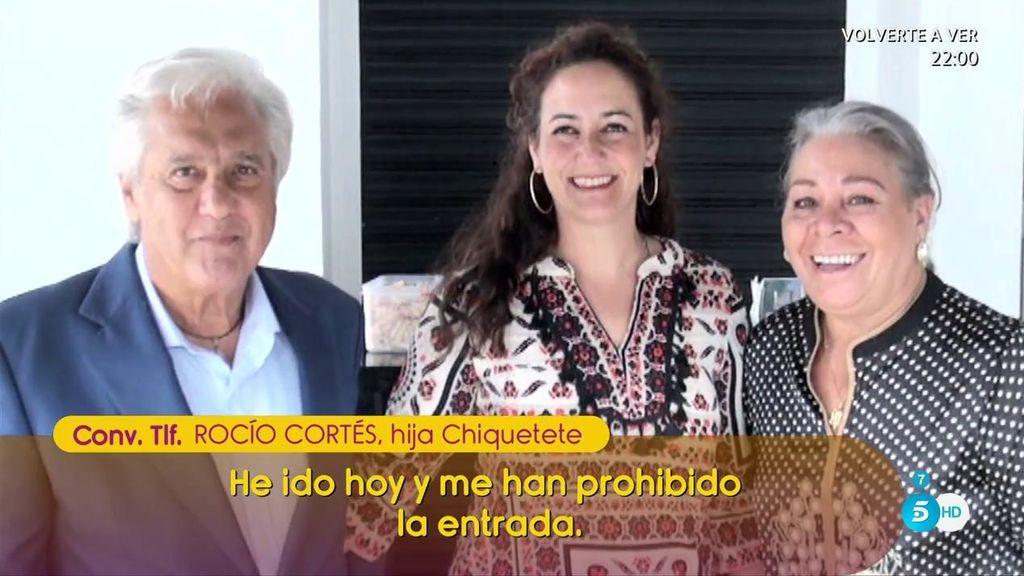 "Rocío Cortés: ""Veo a mi padre muy manipulado con Carmen Gahona"""