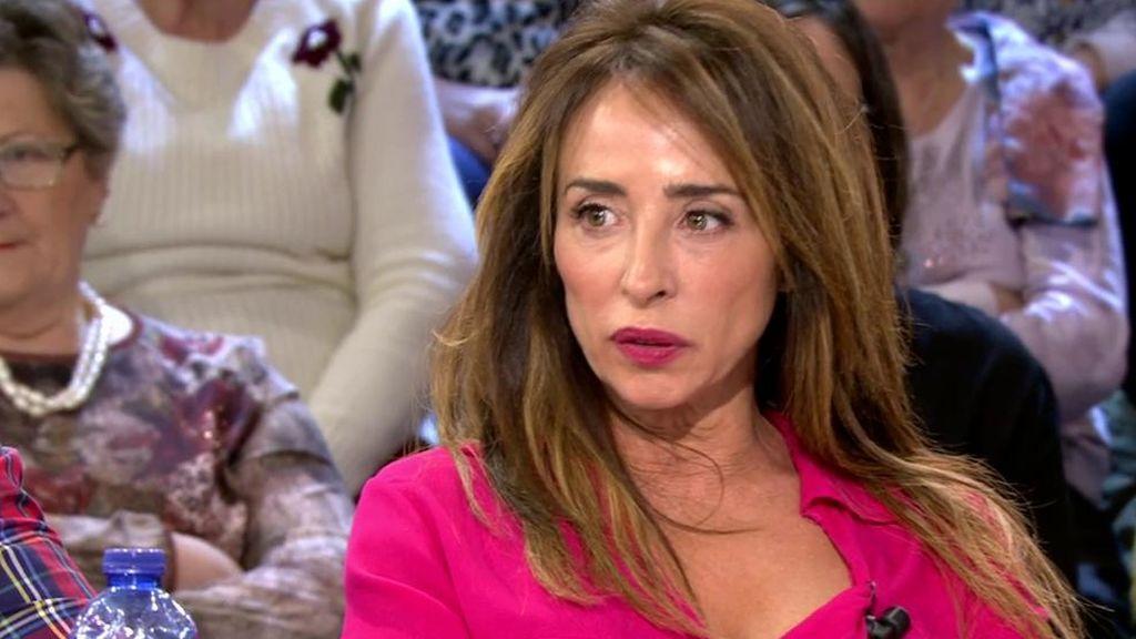 """María Patiño: """"María Jesús Ruiz ha vuelto con Julio Ruz"""""""