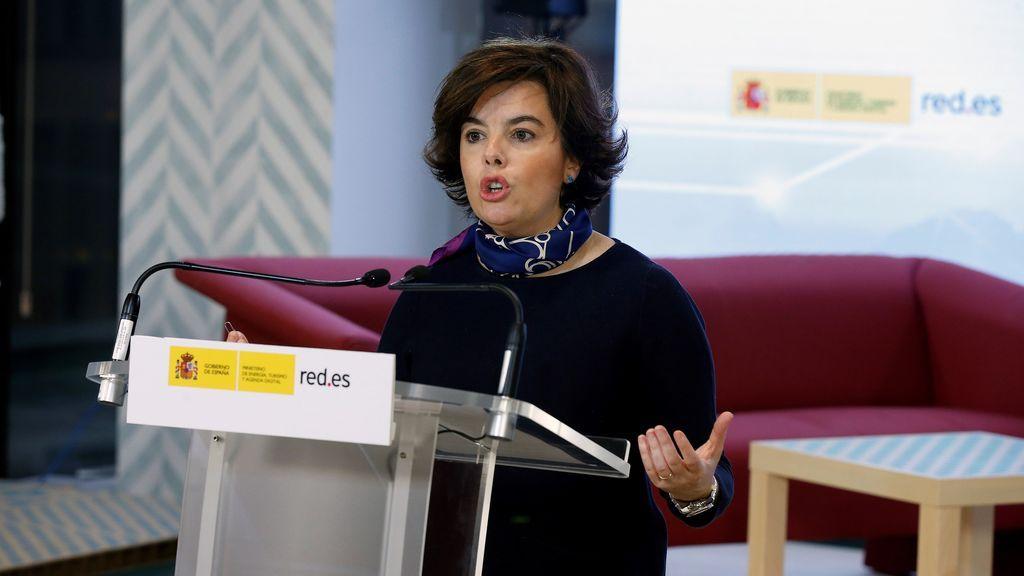 """Santamaría dice que las relaciones del PP con Ciudadanos no están congeladas, sino a """"temperatura ambiente"""""""