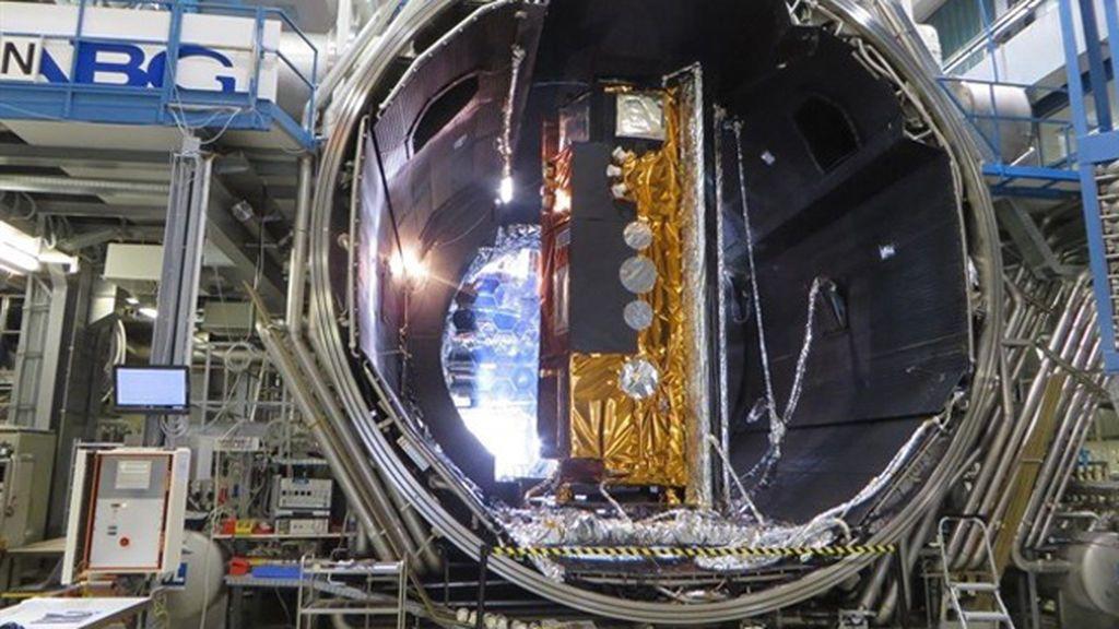 Space X lanza al espacio el satélite español PAZ de observación terrestre