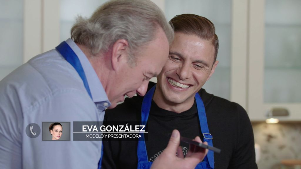 Eva González no se resiste al proyecto solidario de Bertín y Joaquín y se parte de risa con ellos