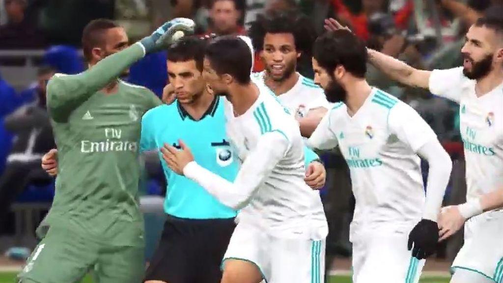 ¿Fake o Realidad? El árbitro celebra los goles del Real Madrid con los jugadores