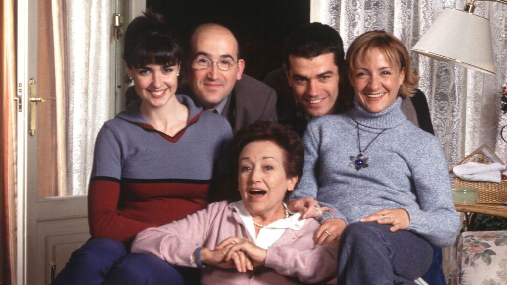 Algunos protagonistas de '7 vidas' son Paz Vega, Javier Cámara, Amparo Baró, Toni Cantó y Blanca Portillo (de izquierda a derecha).