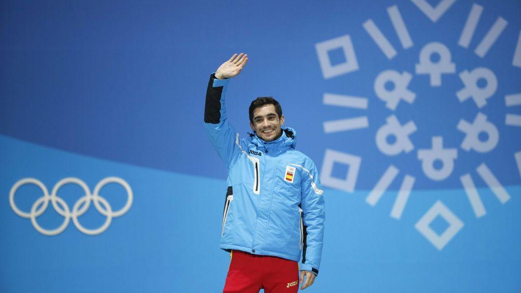 """Javier Fernández: """"No creo que vuelva a unos Juegos, por eso era tan importante conseguir medalla"""""""