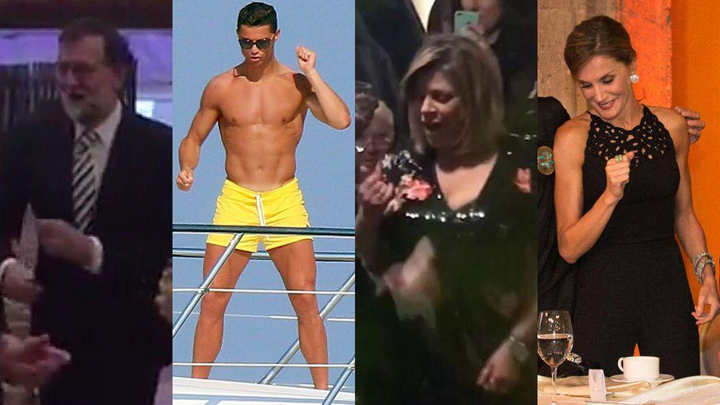 Bailad, bailad, famosos: VIPs que se hacen virales moviendo el esqueleto
