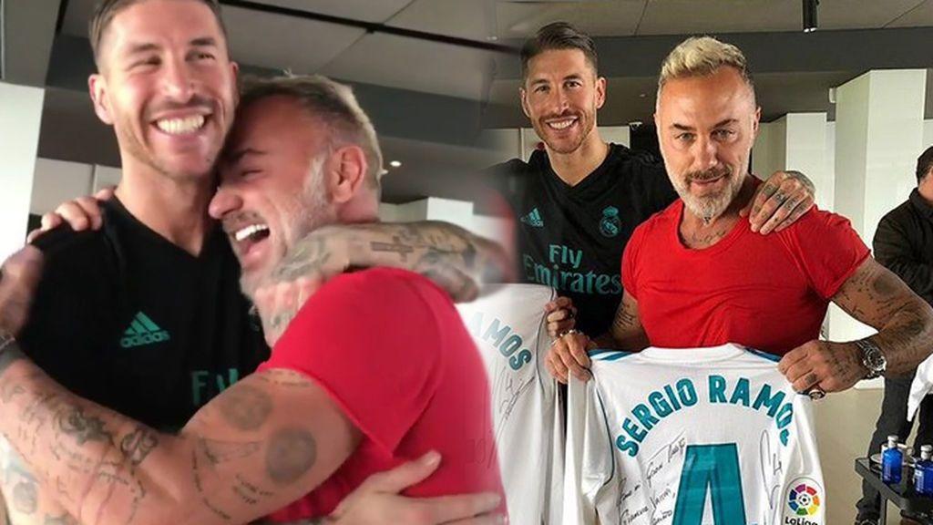 Sergio Ramos y su vacile a Gianluca Vacchi, el millonario más famoso de Instagram