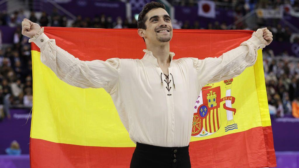 Javier Fernández conquista el bronce en el patinaje artístico de PyeongChang 2018