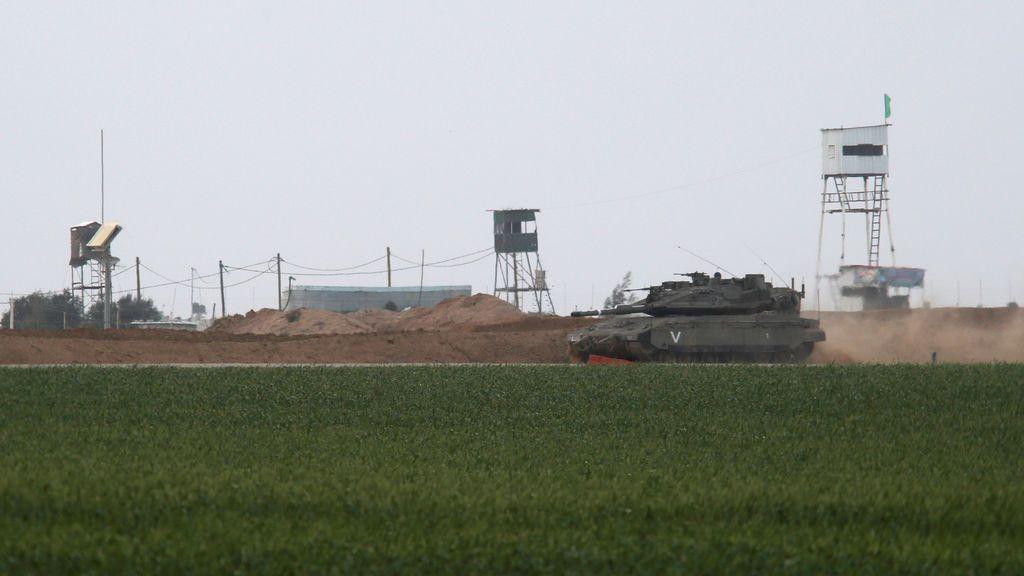 Israel ataca al menos 18 blancos de Hamás en una de las mayores operaciones en Gaza