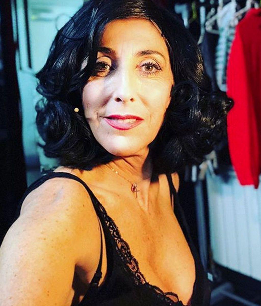 Paz Padilla, poseída entre bambalinas, asusta a sus compañeras de teatro