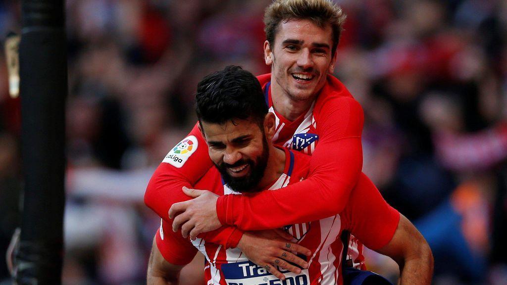 El Atlético de Madrid ilusiona y gana ante el Athletic de Bilbao (2-0)