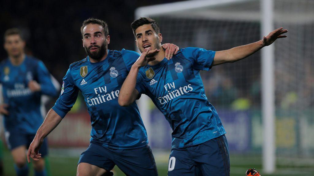 El Real Madrid se lleva un partido de infarto frente al Betis (3-5)
