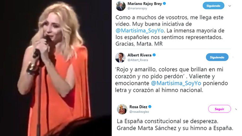 Marta Sánchez tuits