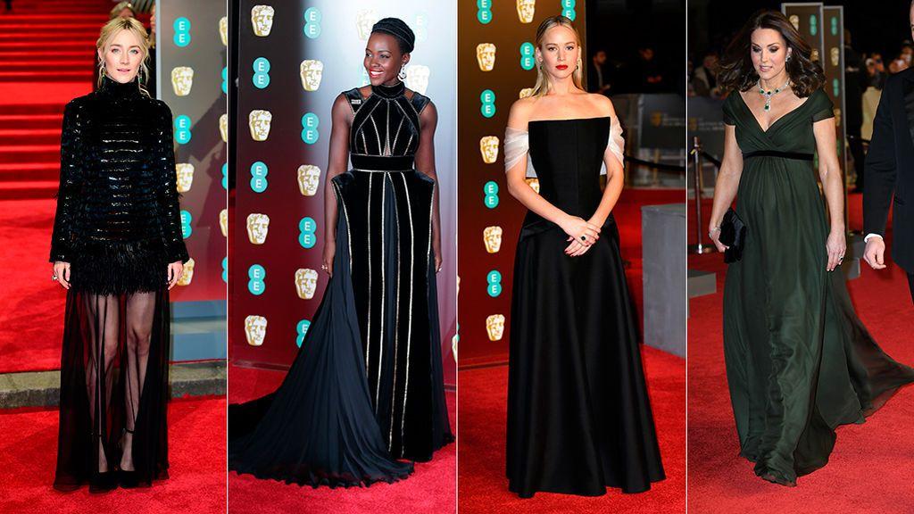 La alfombra roja de los BAFTA, foto a foto