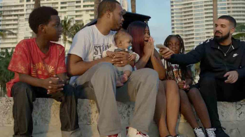 El rapero Drake regala un millón de dólares en su nuevo videoclip