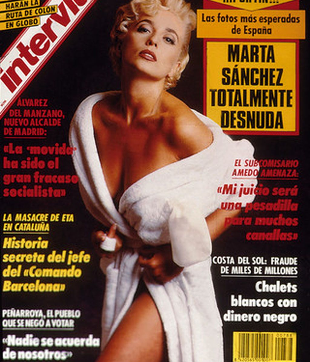 Marta Sánchez Interviú