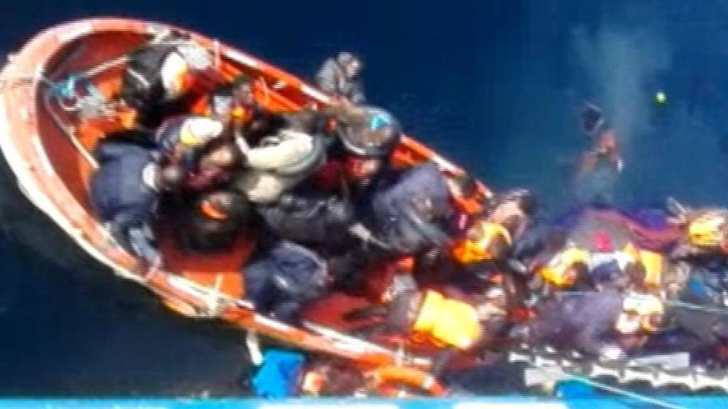 Agónico rescate en el Mar de Alborán