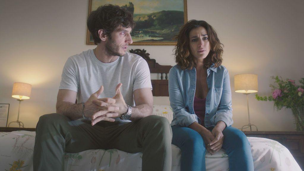 Quim Gutiérrez e Inma Cuesta son José y Lucía en la serie de Telecinco 'El accidente'.