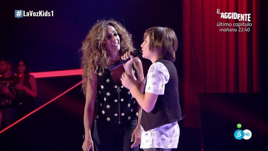 Rosario no se gira pero cumple el sueño de Hugo: cantar juntos 'No dudaría'