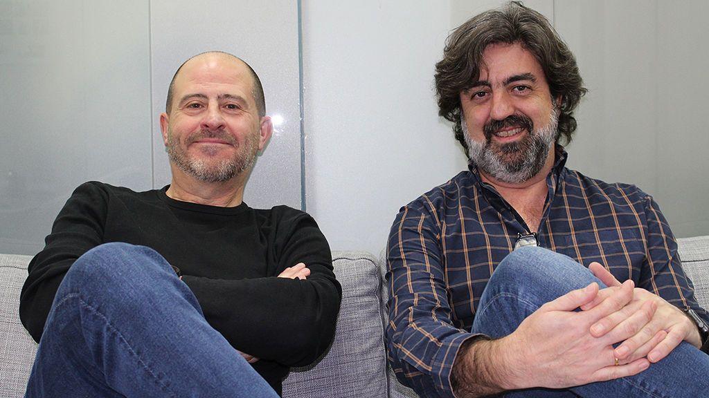 José Camacho y Víctor García