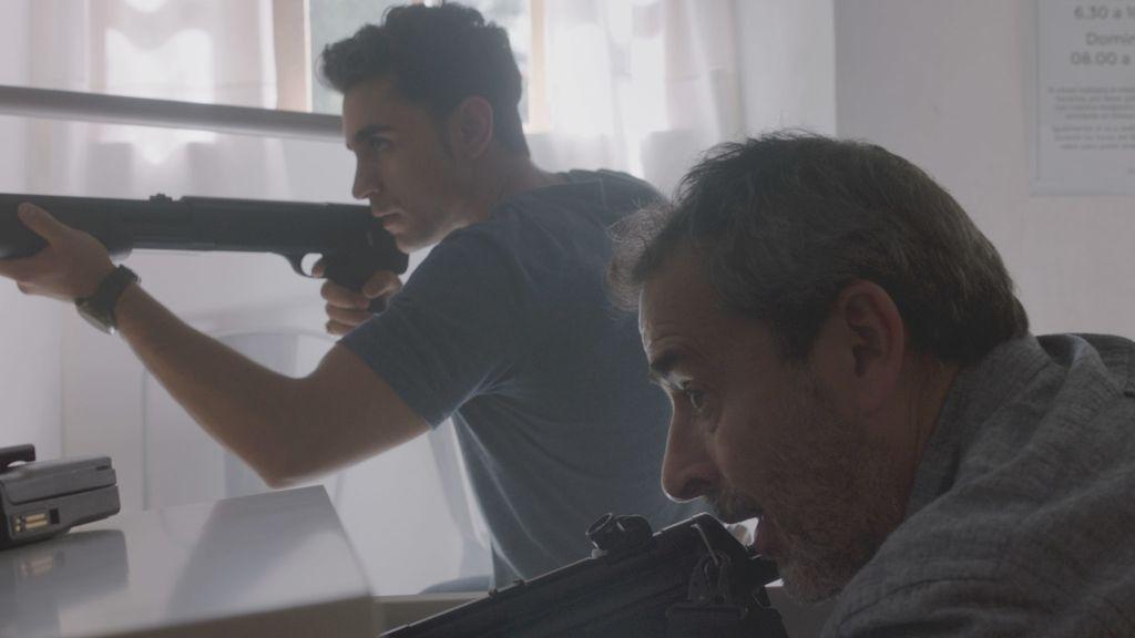 Imágenes del último capítulo de la serie de Telecinco 'El accidente'.