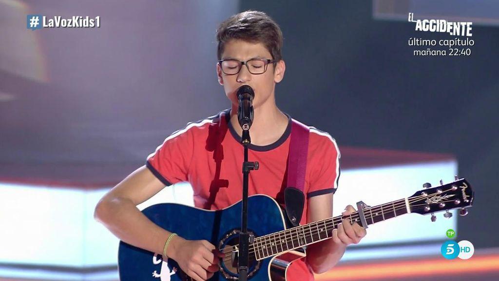 """Oriol comienza su sueño en 'La Voz Kids': """"Quiero ser como Justin Bieber"""""""