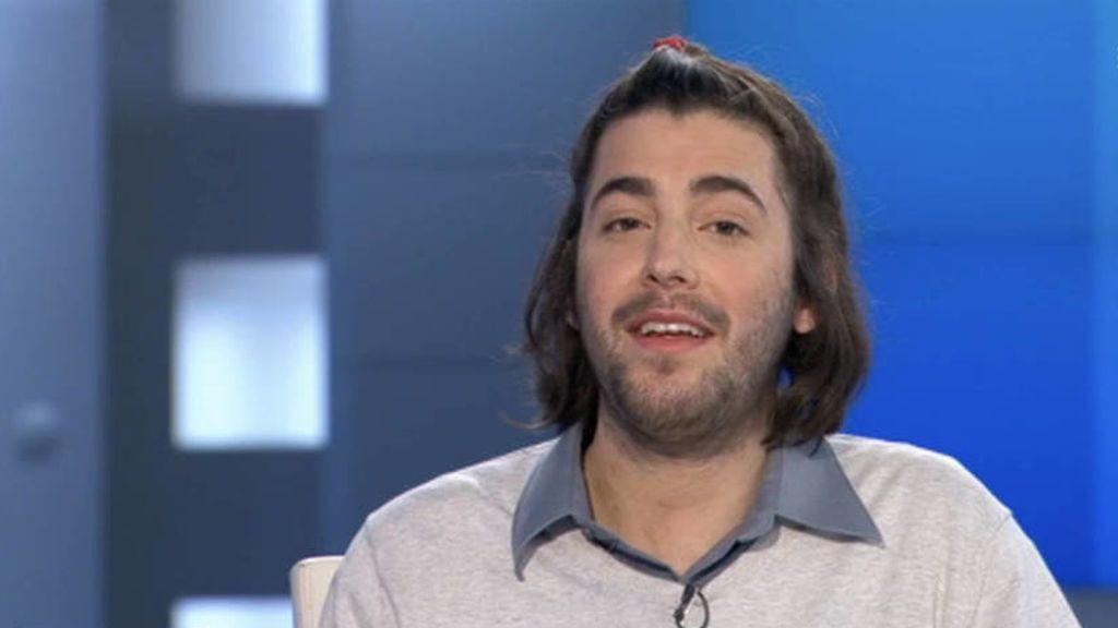 Salvador Sobral, en su primera entrevista a latelevisión pública portuguesa RTP tras su trasplante de corazón.