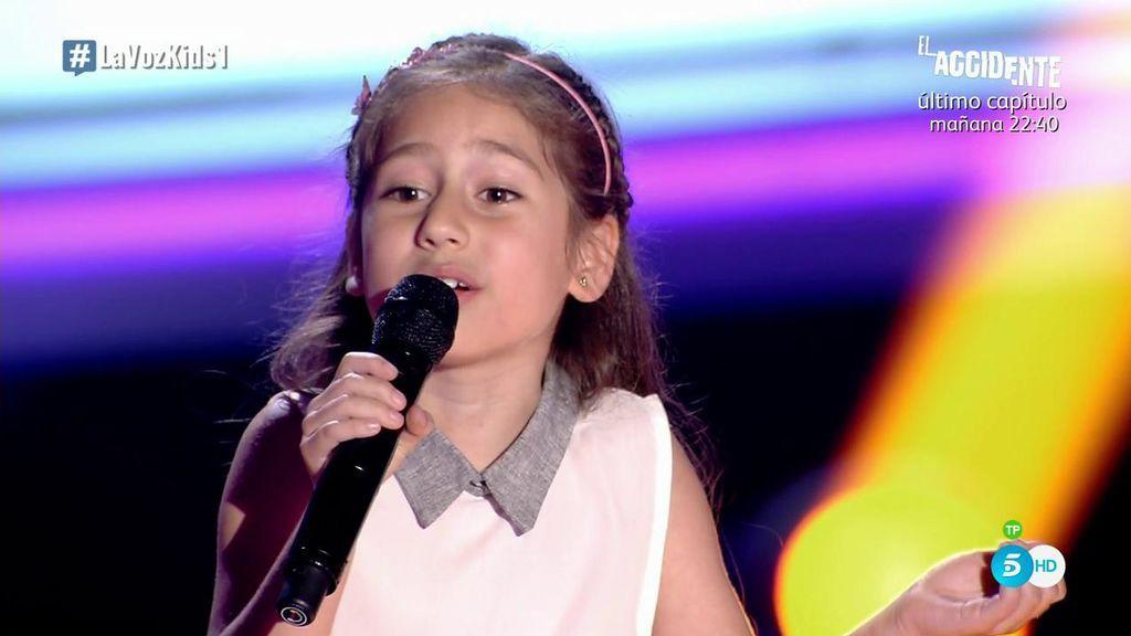 Alison, la 'princesa', inaugura la edición de 'La Voz Kids' dedicando la canción ¡a su pobre perro!