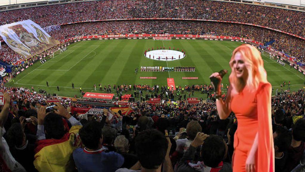 ¿Debería cantar Marta Sánchez el himno en la final de Copa del Rey de fútbol?
