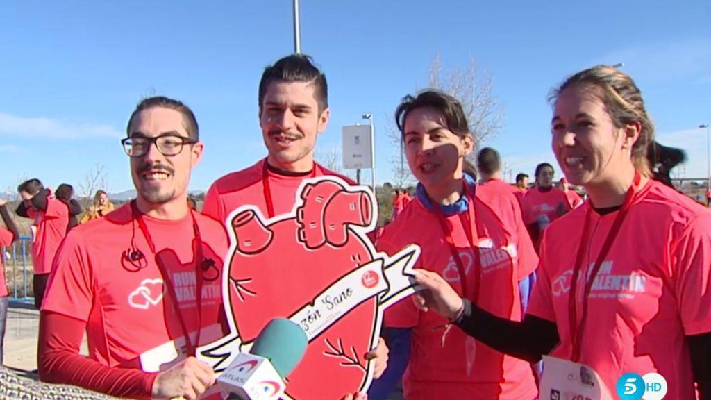 'La tribu del corazón', presente en la Run Valentín
