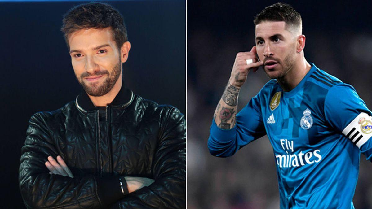 El piropo de Pablo Alborán a Sergio Ramos por su forma de vestir