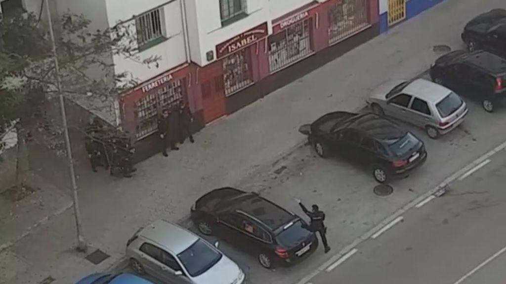 Susto en las calles de Algeciras por un tiroteo a plena luz del día