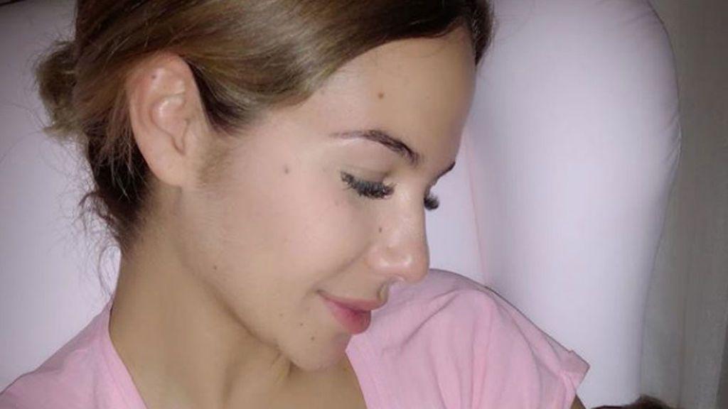 """Tamara Gorro: """"Es tan bonito mi bebé hermoso, me tiene tan enamorada… Si, necesito un babero"""""""